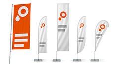 Productbeeld beachflags